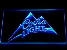 Coors Light Neon Sign Beer home Bar Pub LED light sign mens gift wall decor