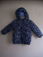 BNWT Baby Boys Reversible Navy Star Coat by Ladybird 12-18 Months & 18-24 Months