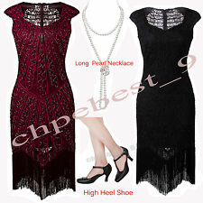 1920s Flapper Dress Gatsby Short Prom Ball 20s Evening Party Cocktail Dresses