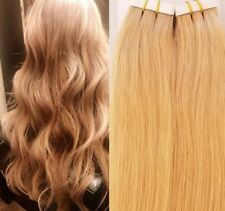 """18"""",20"""" 100gr,40pc,Human Tape In Hair Extensions #16 Honey Blonde"""