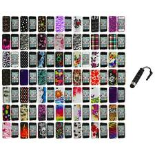 Design Color Hard Snap-On Skin Case Accessory+Stylus Plug for iPhone 4 4G 4S