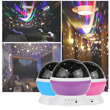 RGB LED Rotating Star Sky Projector Laser Lamp Starry Night Show Lamp Lighting