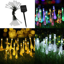 Outdoor Solar Powered 30 LED String Light Xmas Garden Yard Landscape Lamp Decor