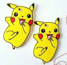 Pikachu Silica gel iphone Case For iPhone 6/6S Plus iphone 7 plus Cute Pokemon N