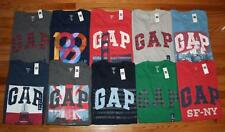 NEW NWT Mens GAP Arch LOGO Graphic Tee T-Shirt ALL Colors Sizes 100% Cotton *E9