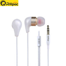 Rillpac CE10 Noise Isolating In-Ear Stereo Earphones Ceramic Metal earbuds