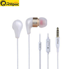 Rillpac CE10S With Mic & Remote Noise Isolating In-Ear Hifi Stereo Earphones