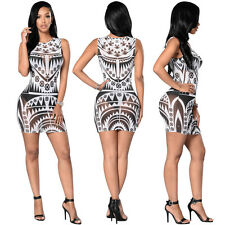 Women Sexy Mesh Sheer Bandage Bodycon Dress Evening Party Cocktail Mini Dresses