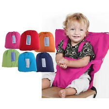 Portable Safety Baby Infant Dining 2 Straps Belt High Chair Seat Feeding Harness