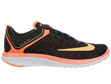 NEW WOMENS NIKE FS LITE RUN 4 RUNNING SHOES TRAINERS BLACK / PEACH CREAM / BRIGH
