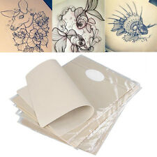 "8""x6"" Dual Side Premium Blank Tattoo Practice Skin For Needle Machine Supply Kit"