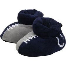 Indianapolis Colts Youth Puffy Ankle Slippers - NFL