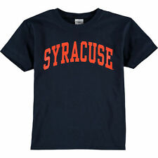 New Agenda Syracuse Orange Youth Navy Arch T-Shirt