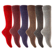 Lian LifeStyle Women's Big Girls' 5 Pairs Knee High Wool Socks Size 7-9 35% Off