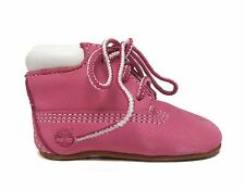 Timberland Infants CRIB BOOTIE&HAT GIFT SET Pink 9680R a