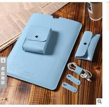 PU Leather Laptop Sleeve Bag Case Cover for MacBook Air 11 12 Pro 13 15  New