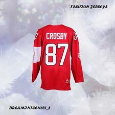 2014 SOCCHI SIDNEY CROSBY #87 Canada Team Hockey Jersey Red M-3XL
