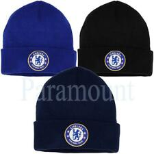 Chelsea FC Official Bronx Cuffed Knit Beanie  Mens Size