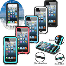 Swimming Shockproof Waterproof proof Case Cover For iPod Touch 5 6 6th Gen