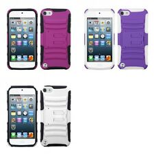 For Apple iPod Touch 5th 6th Gen Hybrid IMPACT Hard TUFF Hybrid Case Phone Cover
