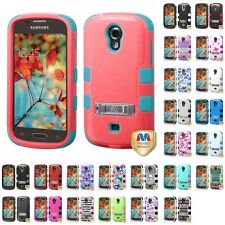 For Samsung Galaxy Light T399 Hybrid TUFF IMPACT Phone Case Hard Rugged Cover