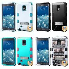 For Samsung Galaxy Note Edge Hybrid TUFF IMPACT Phone Case Hard Rugged Cover