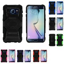 For Samsung Galaxy S6 Edge Heavy Duty Protection Holster Phone Case Cover