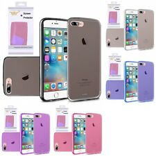 For Apple iPhone 7 [4.7] TPU Rubber Flexible Skin Case Phone Cover