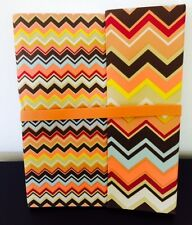"""NEW ICONIC MISSONI FOR TARGET """"COLORE"""" CHEVRON JOURNAL - CANVAS COVER - *RARE*"""