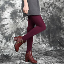 Women Warm Winter Thick Footless Skinny Slim Leggings Stretch Pants EJ