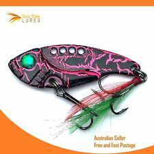 5.5cm Vibes Fishing lures Bream Barra Trout Bass Flathead Redfin Whiting blades