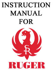 Ruger Pistol Rifle Shotgun Owner Instruction Manual #1