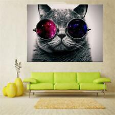20/30/40/50/60cm Unframed Canvas Wall Hanging Art Painting Picture Decor Cat