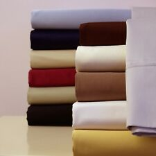 King/Cal-King Size Luxury 300TC 100% Cotton Attached Soft Solid Waterbed Sheet