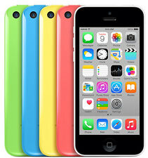 "Apple iPhone 5C 4S 5S -8GB 16GB 32GB SIM Free GSM ""Factory Unlocked"" Smartphone"