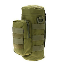 Bottle Pouch Water Bag Tactical Holder Carrier Molle Kettle Military Hiking Case