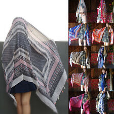 Fashion Women Ladies Long Print Scarf Wrap Shawl Girls Large Silk Scarves