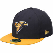 New Era Trenton Thunder Navy/Gold Authentic 59FIFTY Fitted Hat - MiLB