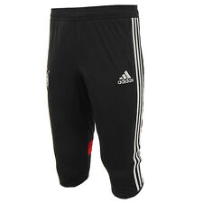 adidas DFB Germany 3/4 Training Pants Soccer Football Shorts Pant Black D83061