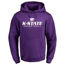 Kansas State Wildcats Purple Kansas State Basketball Pullover Hoodie - College