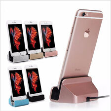 Docking Charger Sync Data Station Charging Desktop Cradle Stand for iPhone 6S 7