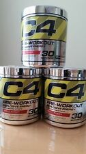 CELLUCOR C4 30 SERVINGS Preworkout Energy G4 Brand New Sealed Fruit Punch