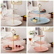 Multi-style 2/3 Tier Cake Plate Stand Handle Fitting Hardware Rod Plate Stand