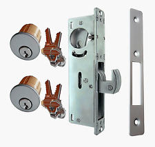 Adams Rite Store Front Door Deadhook lock With Solid Brass Mortise Cylinders