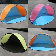 Portable Pop-up Tent Anti-UV Sun Protective Camping Beach Fishing Tent UK