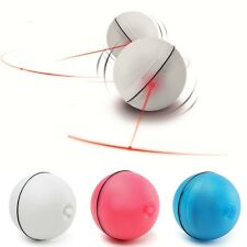 Pet Cat Dog LED Laser Ball Interactive Toys Automatic Red Pointer Light Exercise