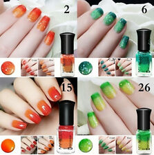 6ml Color Changing Thermal Nail Polish Peel Off Nail Art Varnish Decor Reliable
