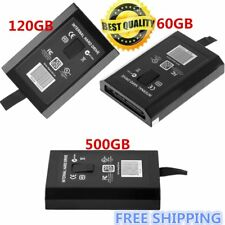 HDD Hard Drive Disk Disc Kit FOR XBOX 360 Internal Slim Black 60GB/120GB/50 DX