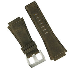 B & R Bands Brown Bomber Vintage Leather Bell & Ross Watch Band Strap BR01 BR03