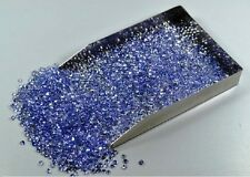 1MM to 7MM CALIBRATED SIZE NATURAL TANZANITE ROUND CUT AA COLOR LOOSE GEMSTONES